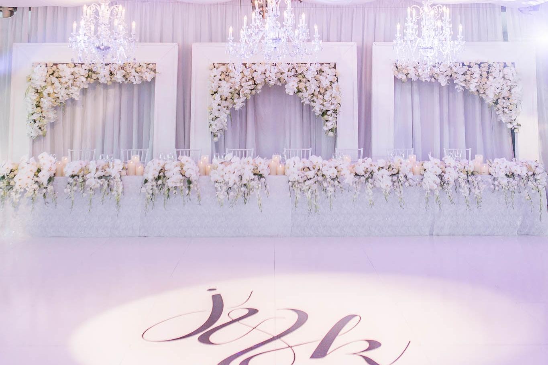 AN ELEGANT WHITE WEDDING