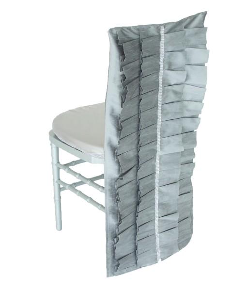 Silver Lori Luxury Chair Cap