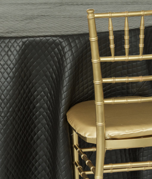 Black Chanel Luxury Linen
