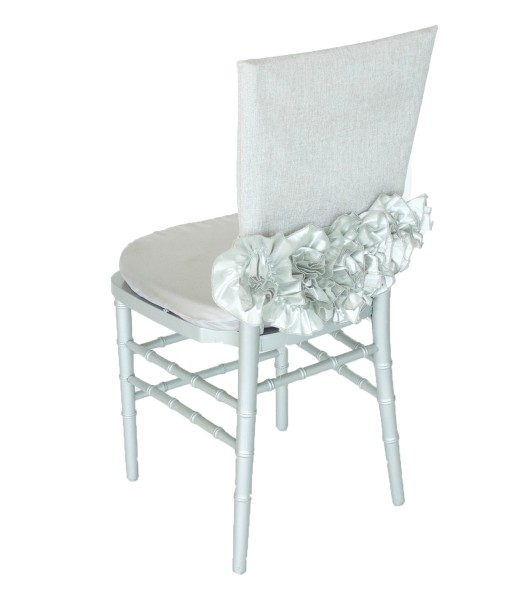 Preston Bailey Luxury Linen Collection - Sofia Silver Chair Cap.jpg