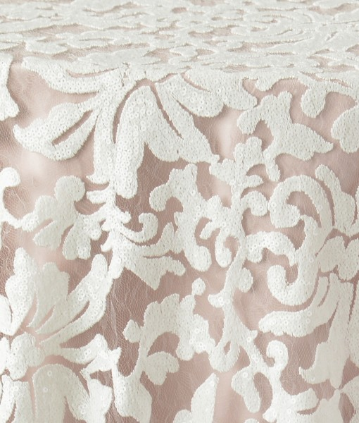 White Anita Luxury Linen