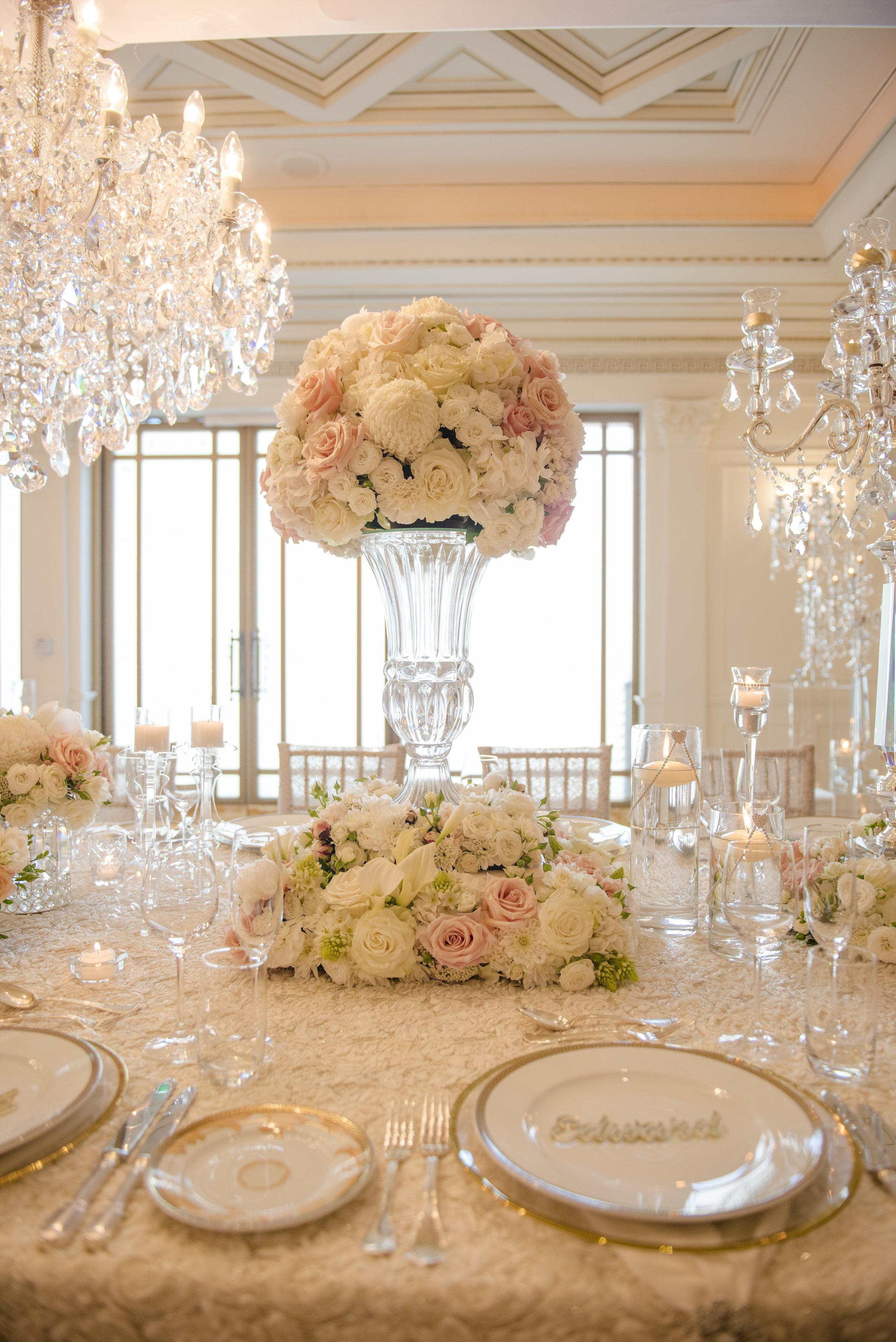 Hire_Ivory_rose_luxury_linen_sydney_wedding_decor_event_Versace_Decor_centrepeice_flowers_pink_white .jpg