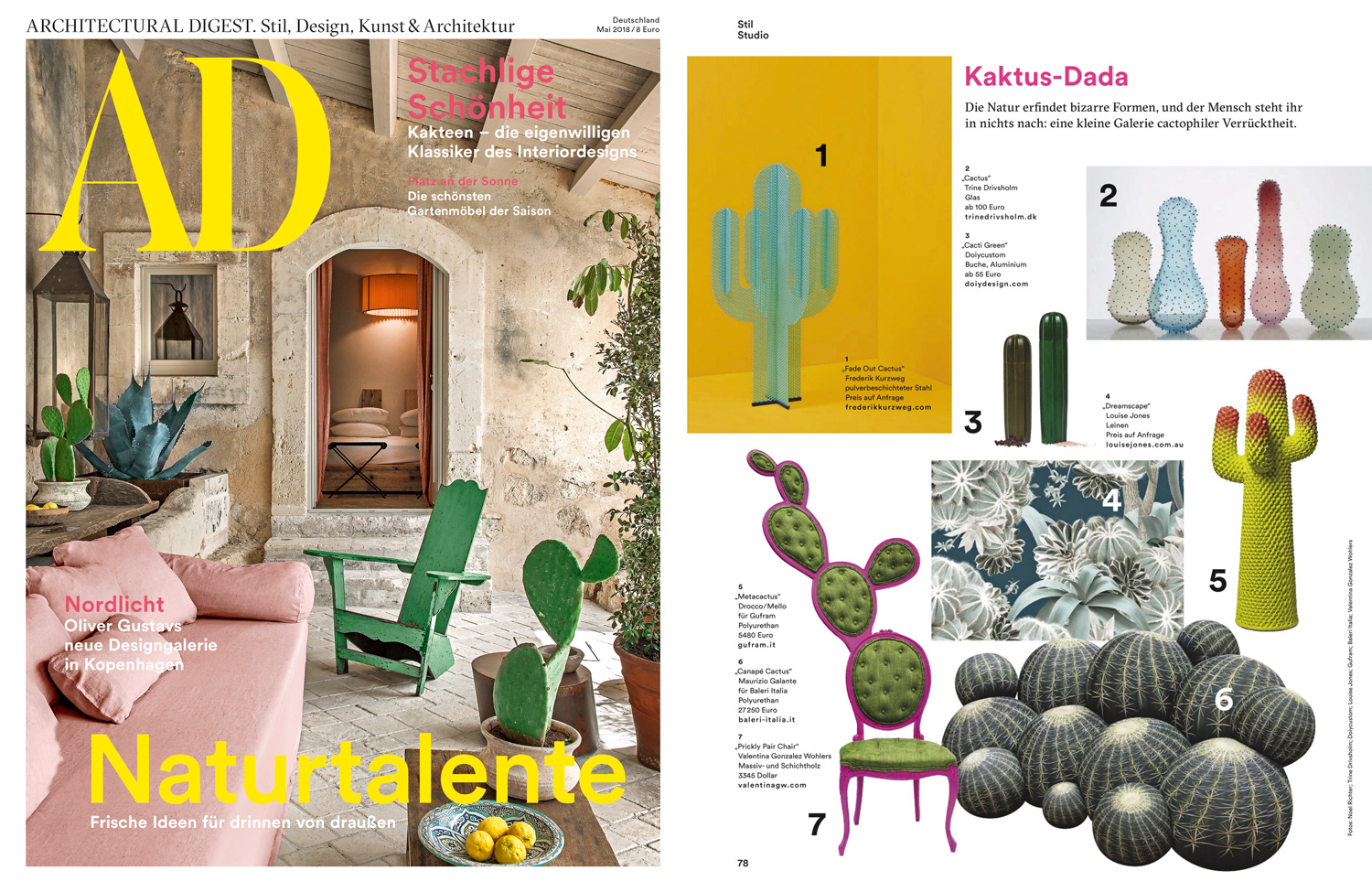 Architectural Digest May 2018