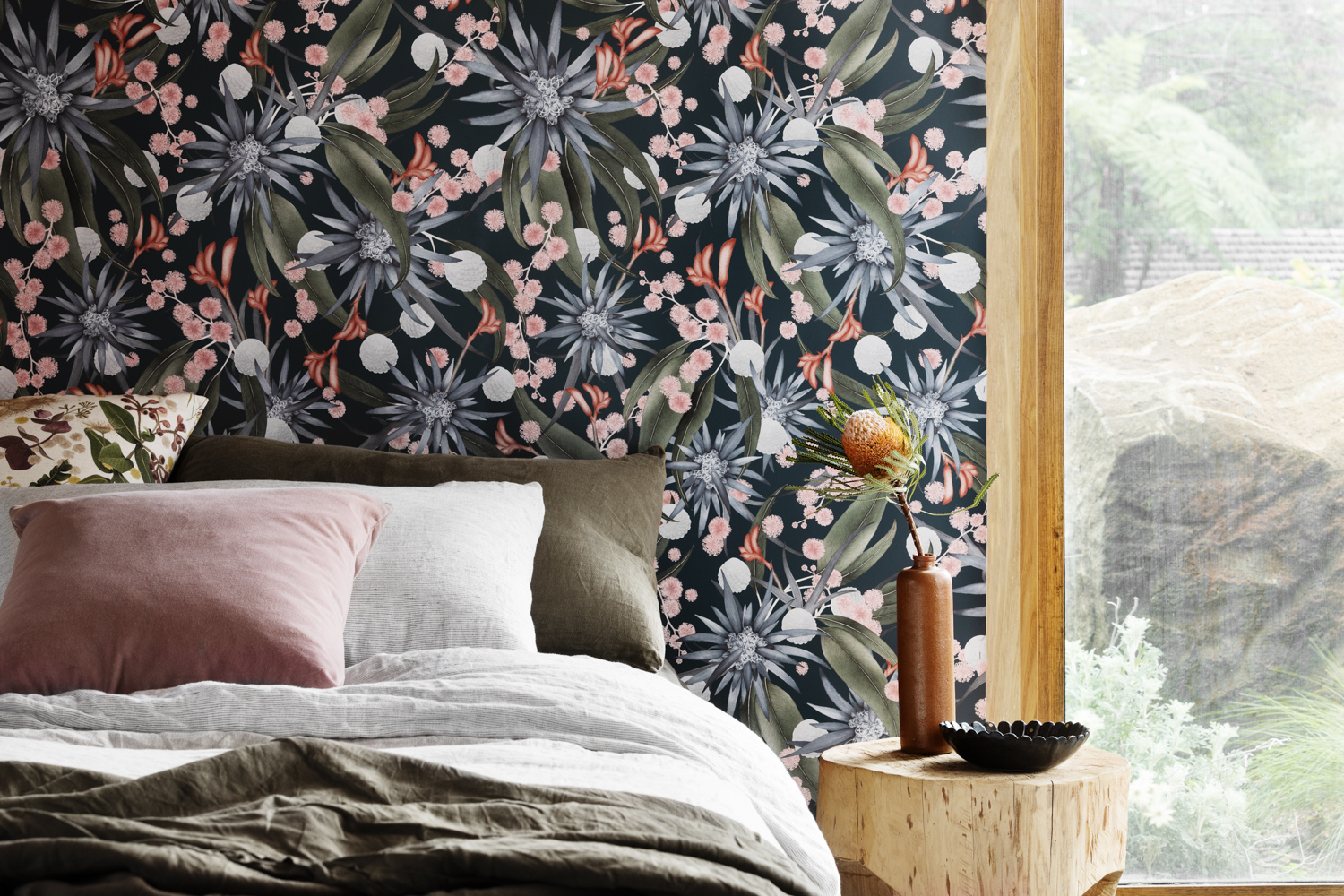 Louise Jones wallpaper range