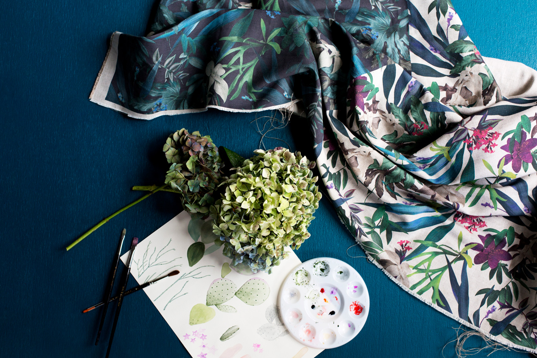 Louise Jones Tropical fabric