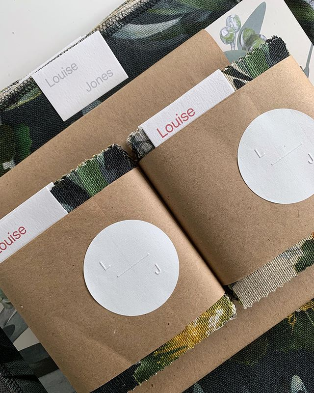 NEW Belgian linen and wallpaper samples heading out to @stylerevolutionary ✨⠀ ⠀ #fabricsamples #belgianlinen #cuttings #textiles #textiledesigner #wallpaper #wallpapersamples #fabric #interiordesign #interiordesigner #decor #wallpaperdecor  #designinspiration #sneakpeek #upholstery #australiandesign #interiors #furniture #pattern #linen #louisejonestextiles