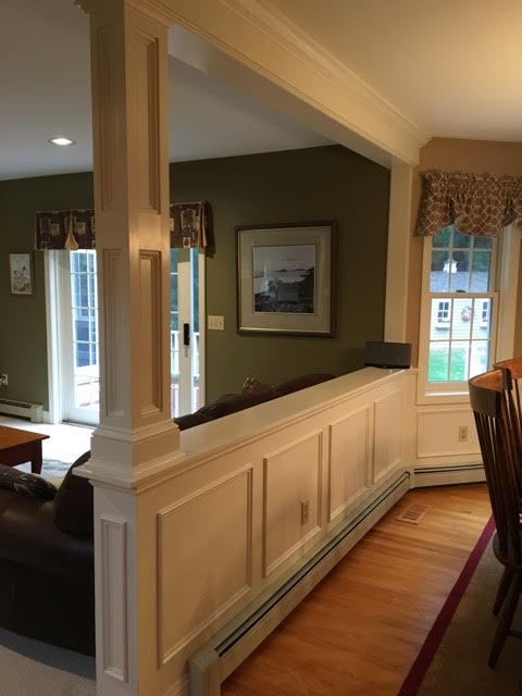 Customized interior architectural details