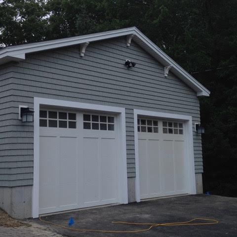 After two-car garage