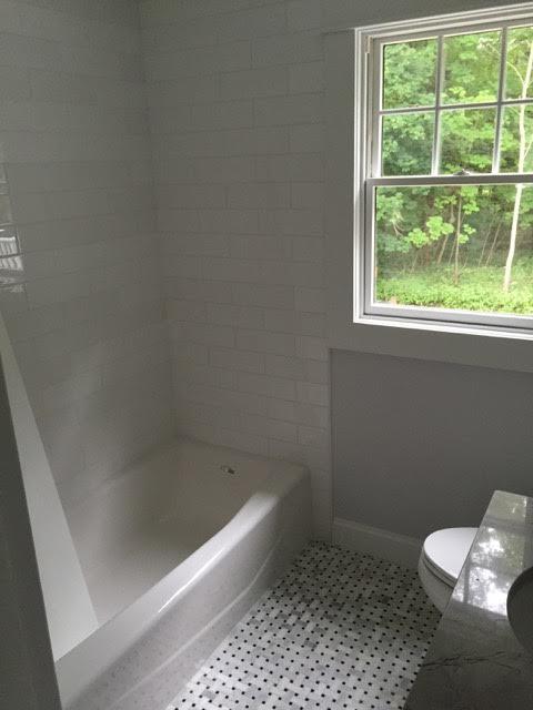 After: updated bathroom