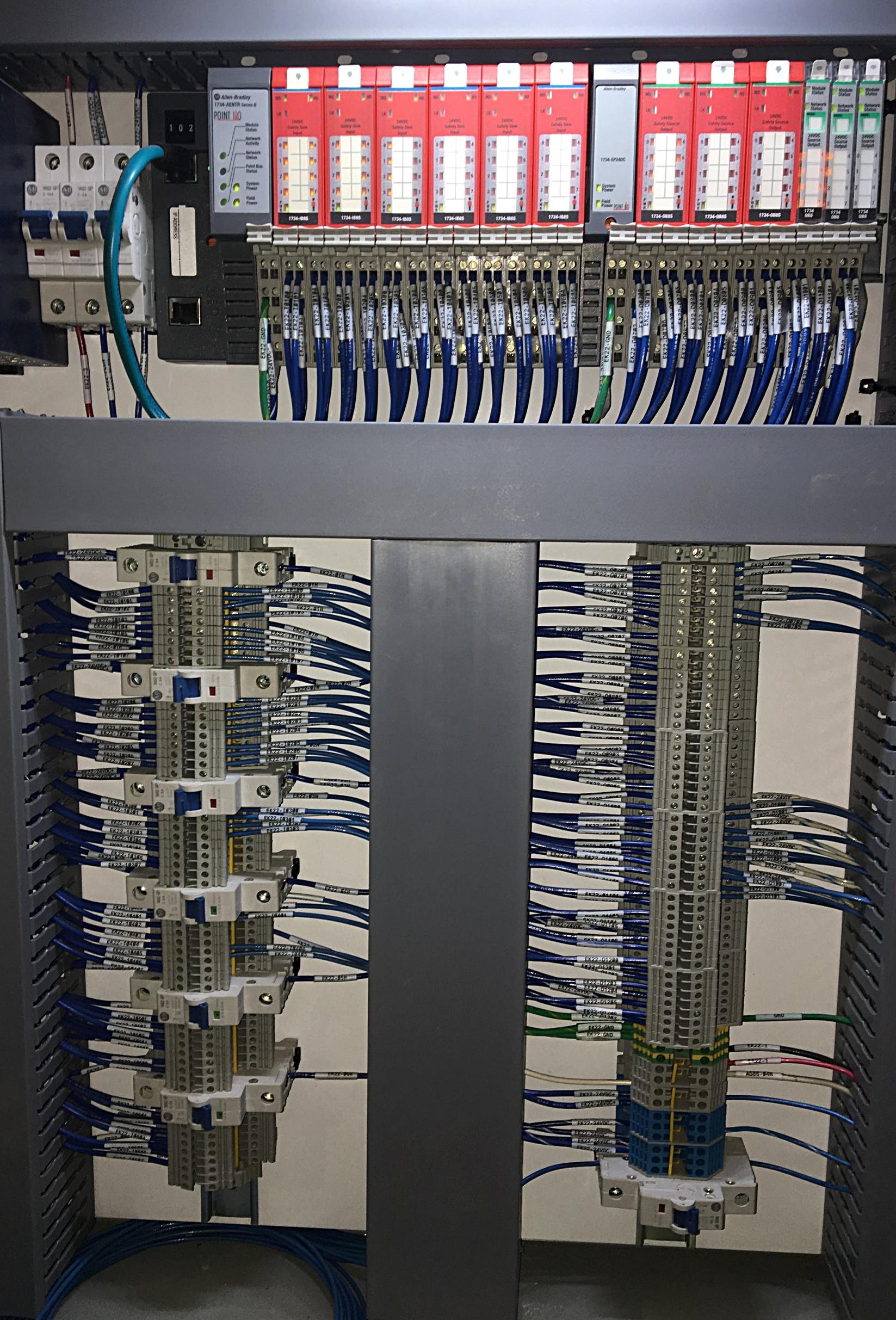 Point IO Rack