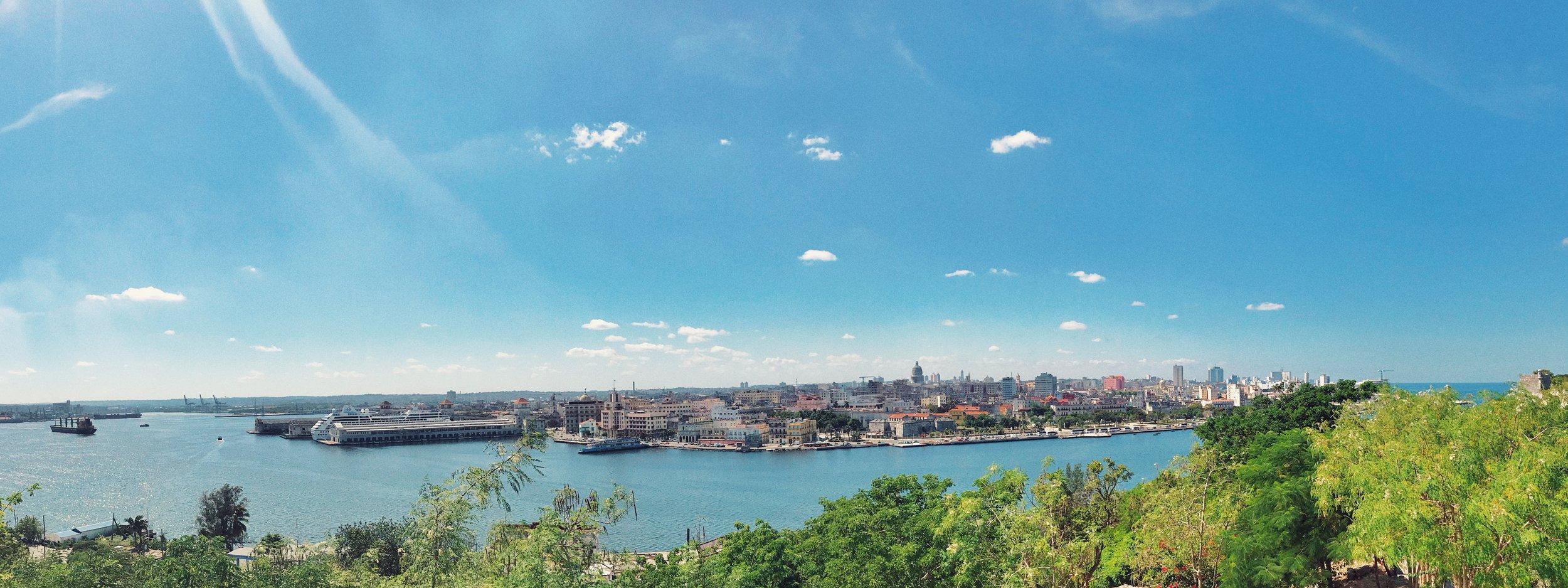 View of Old Havana from Regla