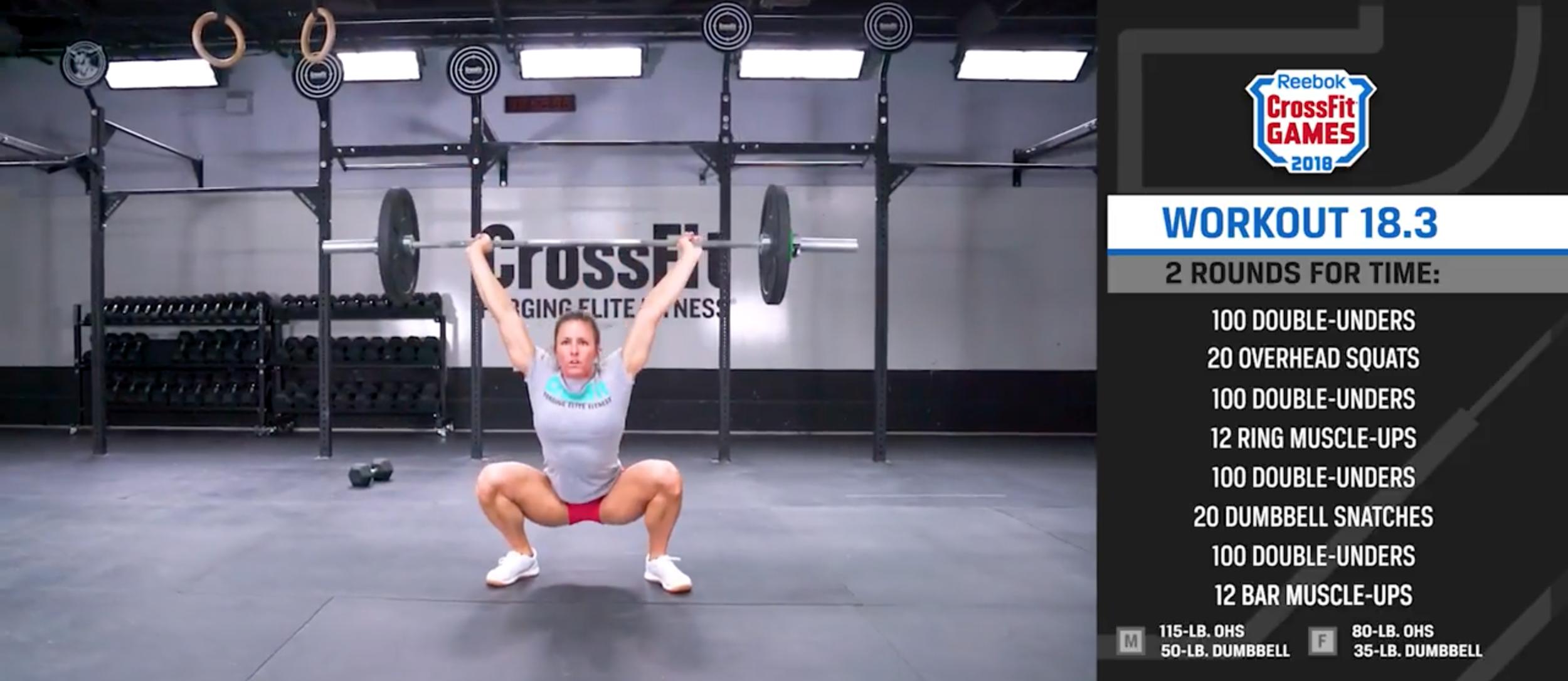 CrossFit Open 18.3