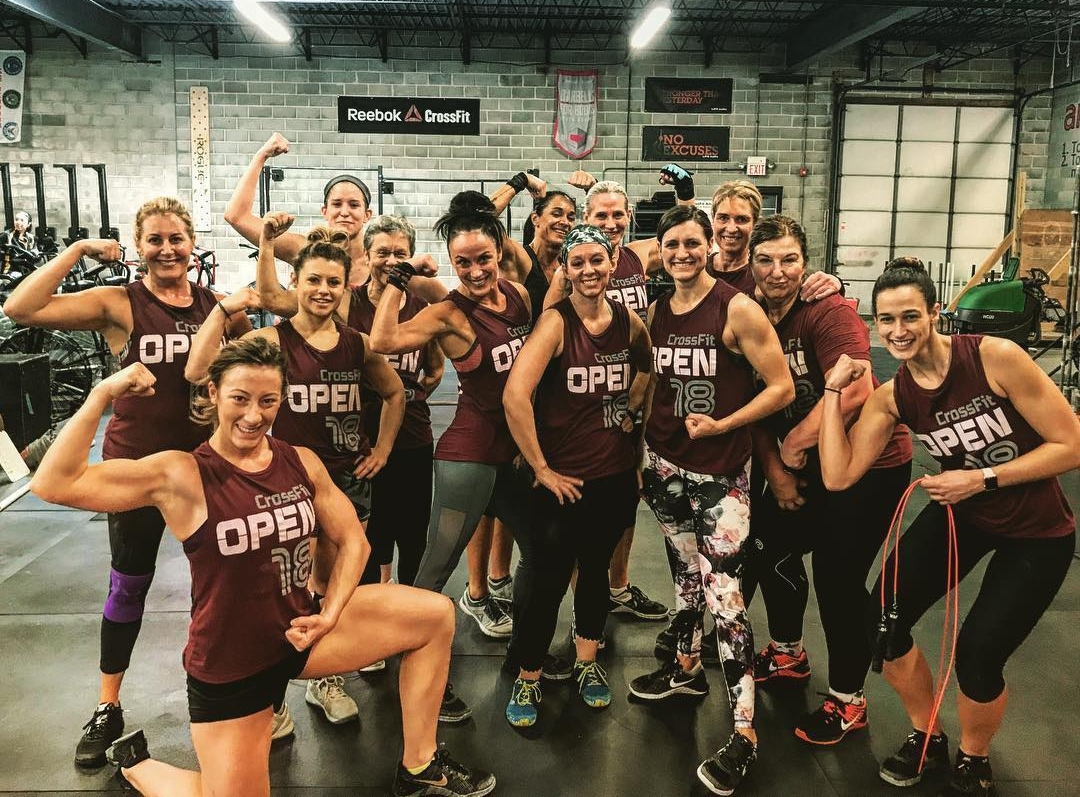 2018 CrossFit Open ladies
