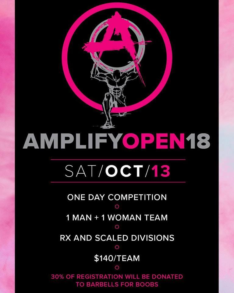 2018 Amplify Open
