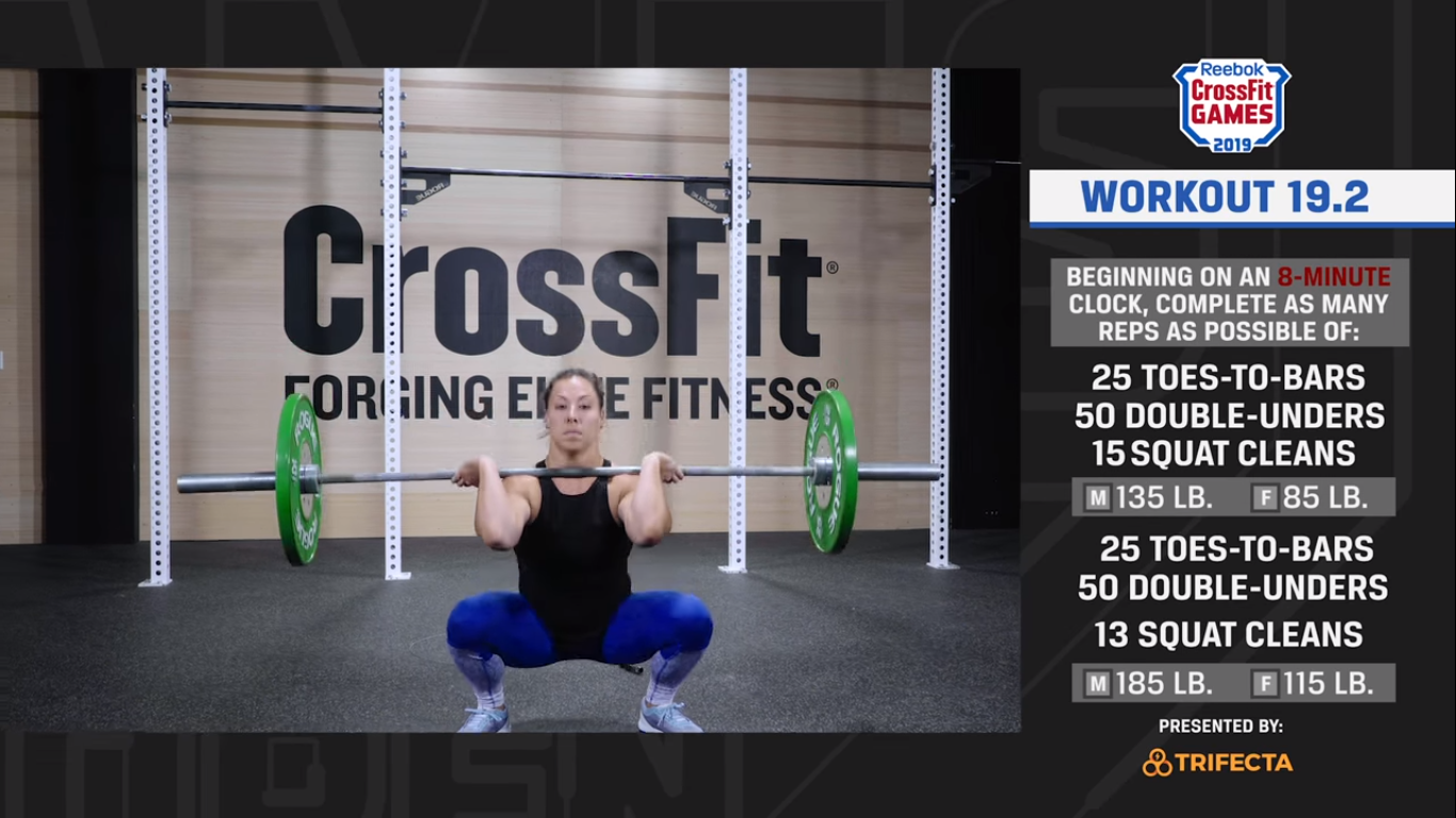 Open Workout 19.2