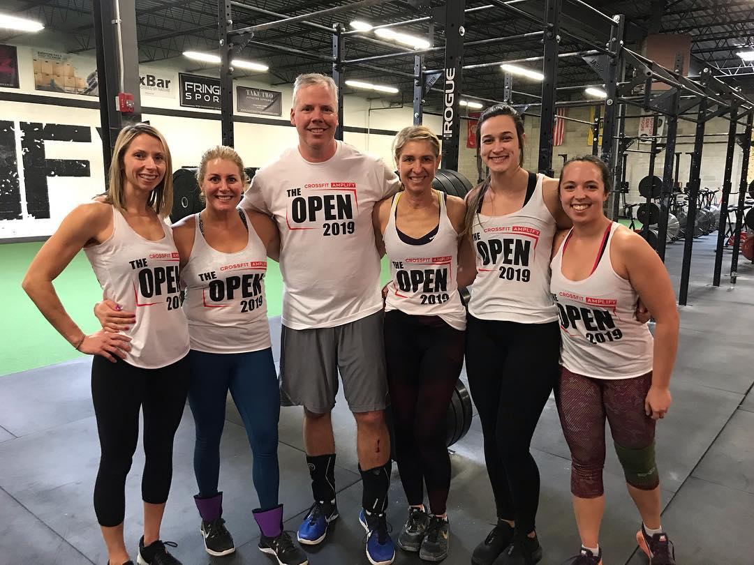 AmpFam - CrossFit Open 2019