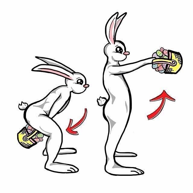 CrossFit Easter Bunny