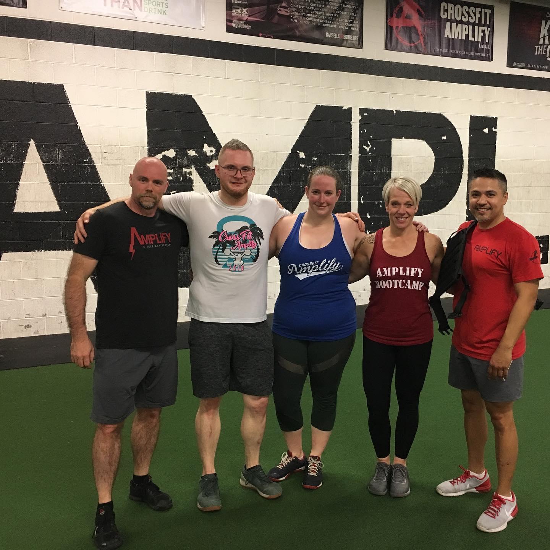 Monday, June 24, 2019 — CrossFit Amplify
