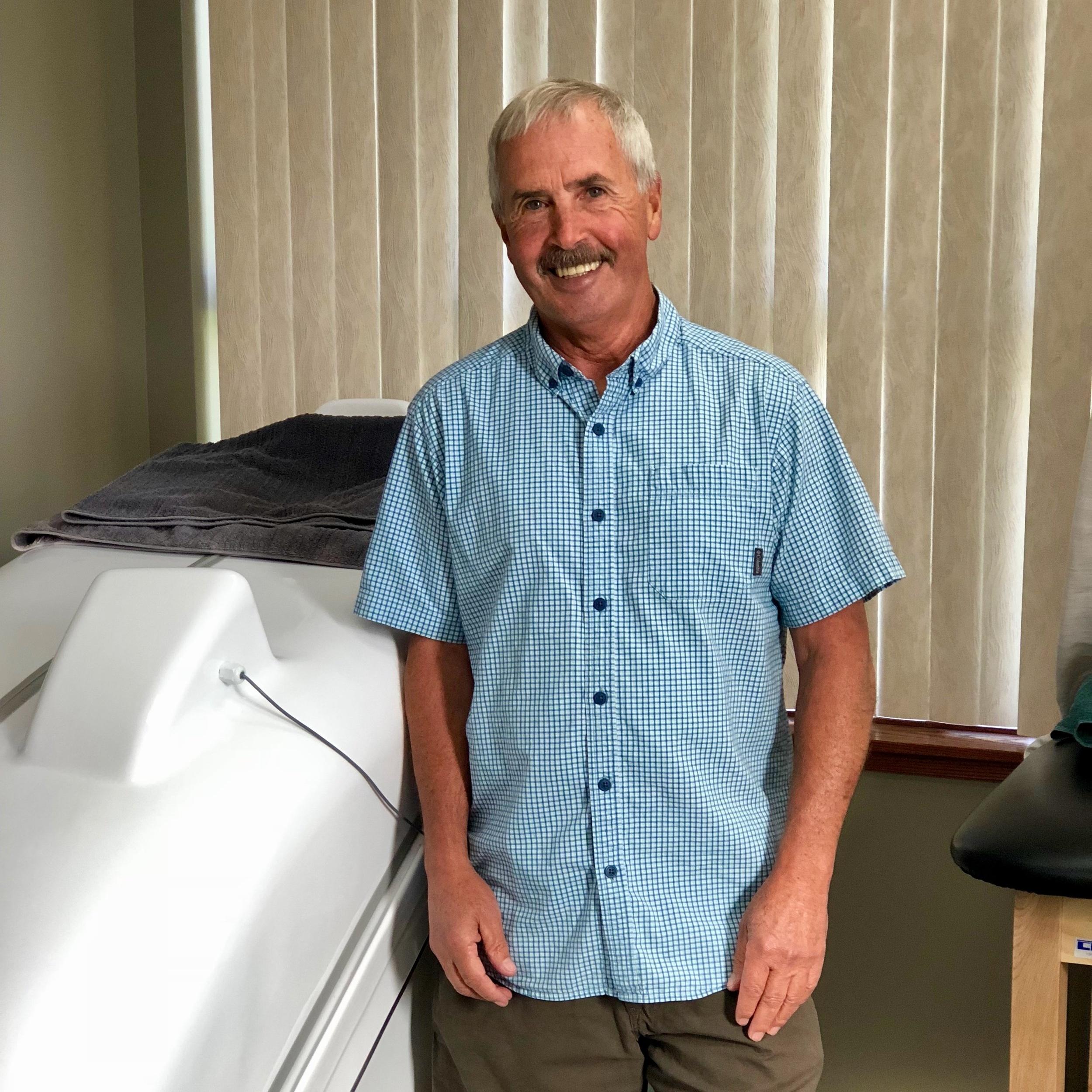 Doug Herbruck, Senior HOCATT Technician - For set up or mechanical questions, contact Doug at Dougendlesshealthllc@gmail.com