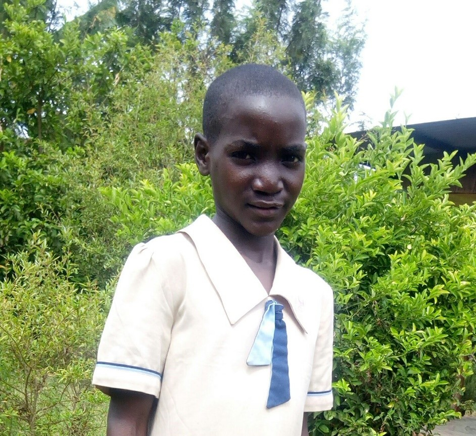 Jackline Makuke - Jambo! Jambo! My name is Jackline Makuke, I am 14 years old. I like eating pilau (African food). I enjoy watching cartoons. What makes me happy is going to school. I don't enjoy when I miss school. When I grow up I would like to become an Engineer.