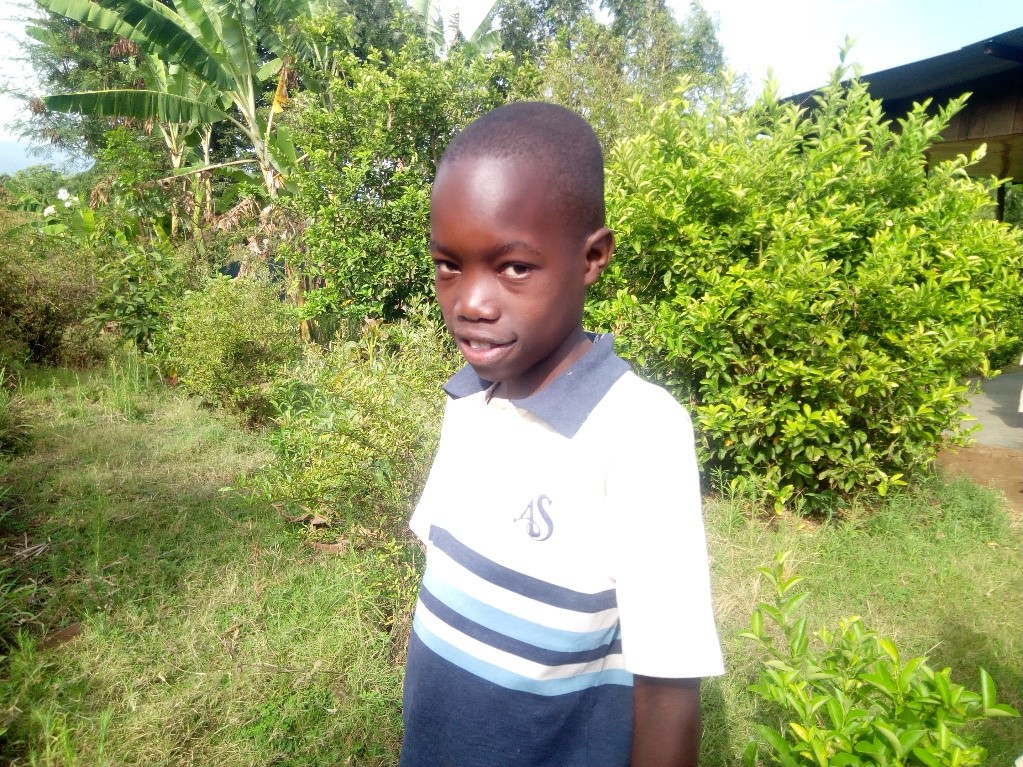 Richard - Jambo! Jambo! My name is Richard, I am eleven years old. I like playing football. My favourite food is Rice and beans. What makes me happy is eating. I don't enjoy when am hungry. When I grow up I would like to become a teacher.