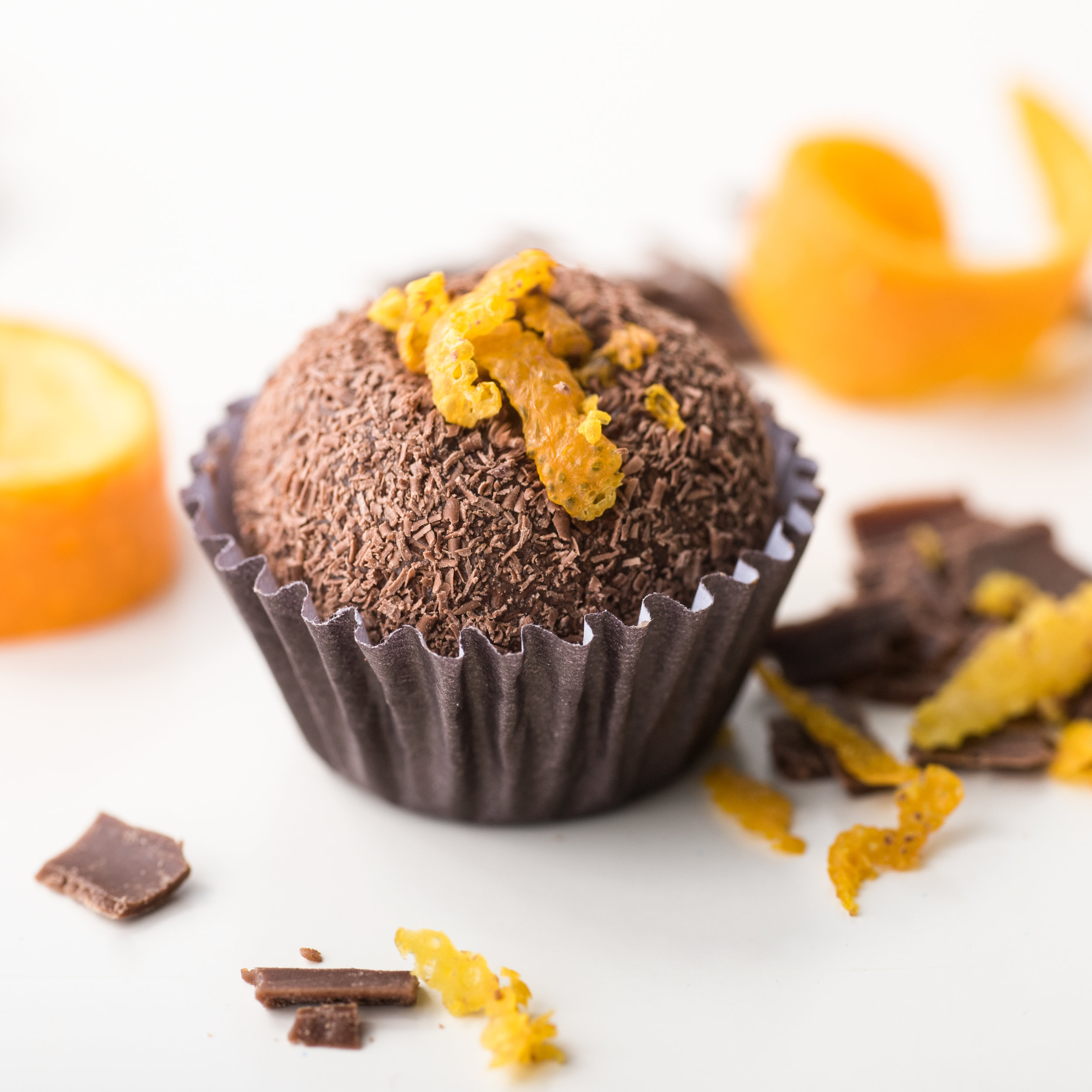 Laranja: Dark Chocolate Orange