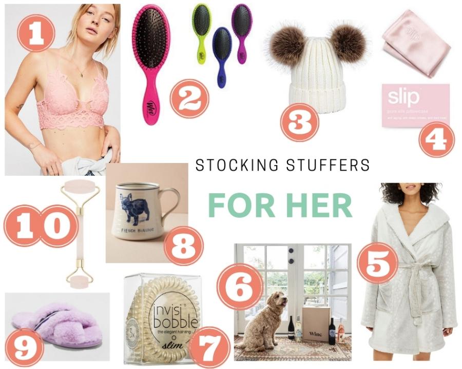 Stocking Stuffer Ideas for her