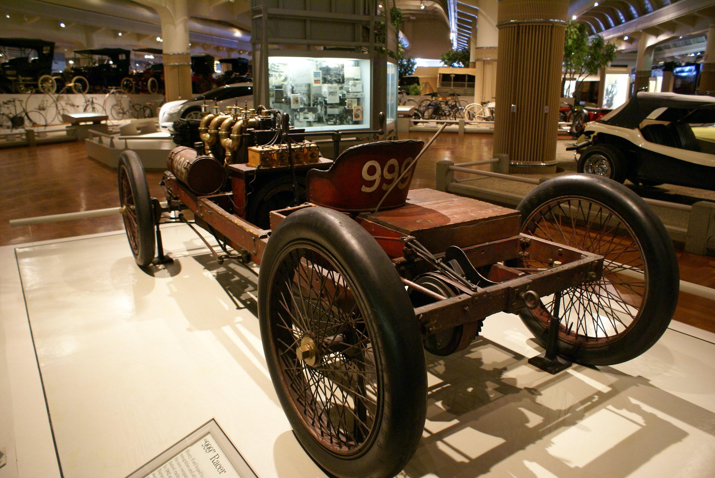 Ford 999 racer rear.JPG
