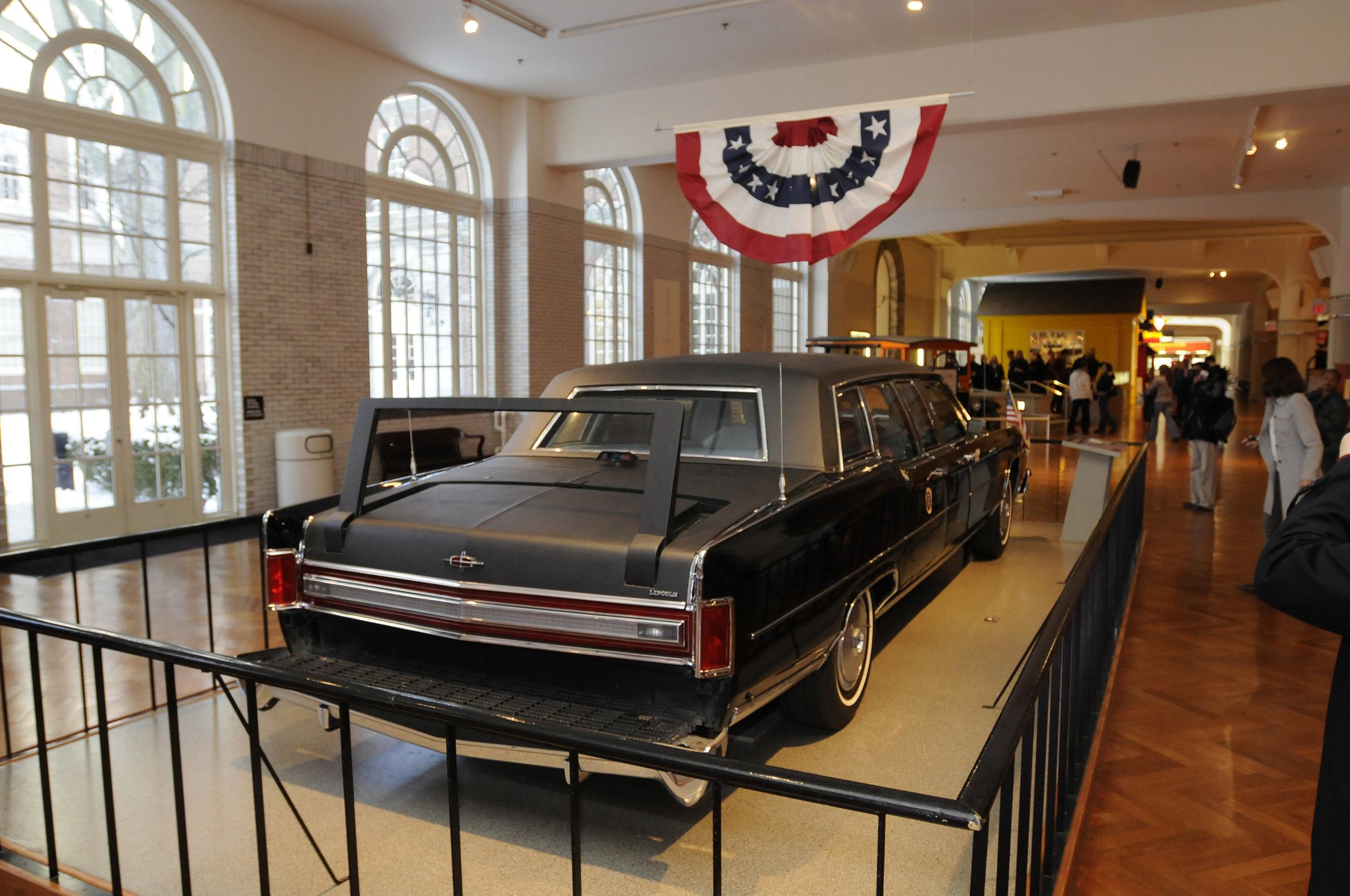 Ronald Reagan car rear.jpg