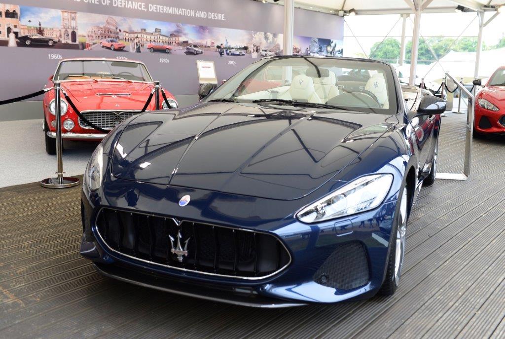 Maserati GranCabrio Sport MY18 allo stand  Maserati al Goodwood Festival of Speed 2017.jpg