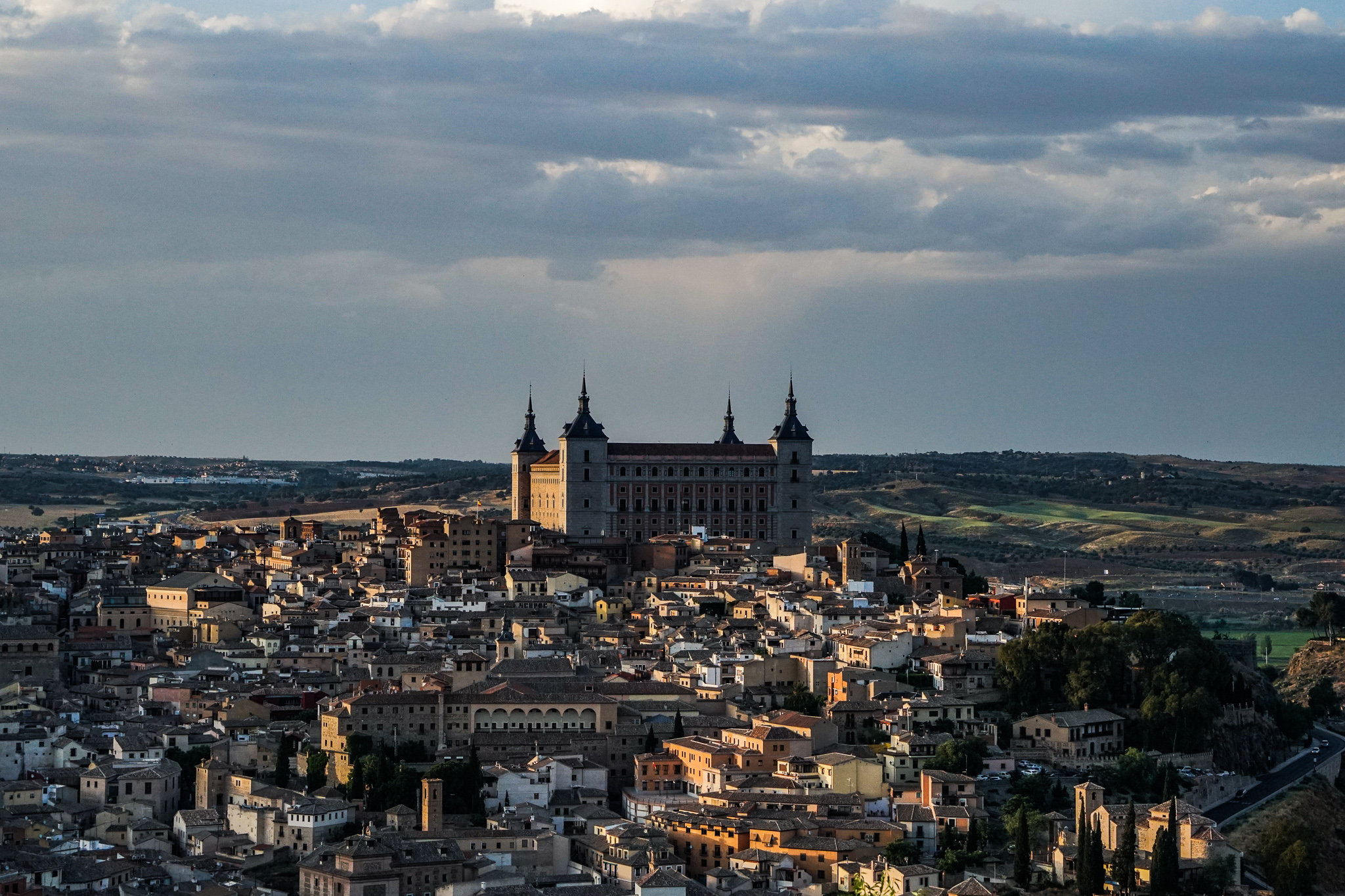 View from El Parador de Toledo.