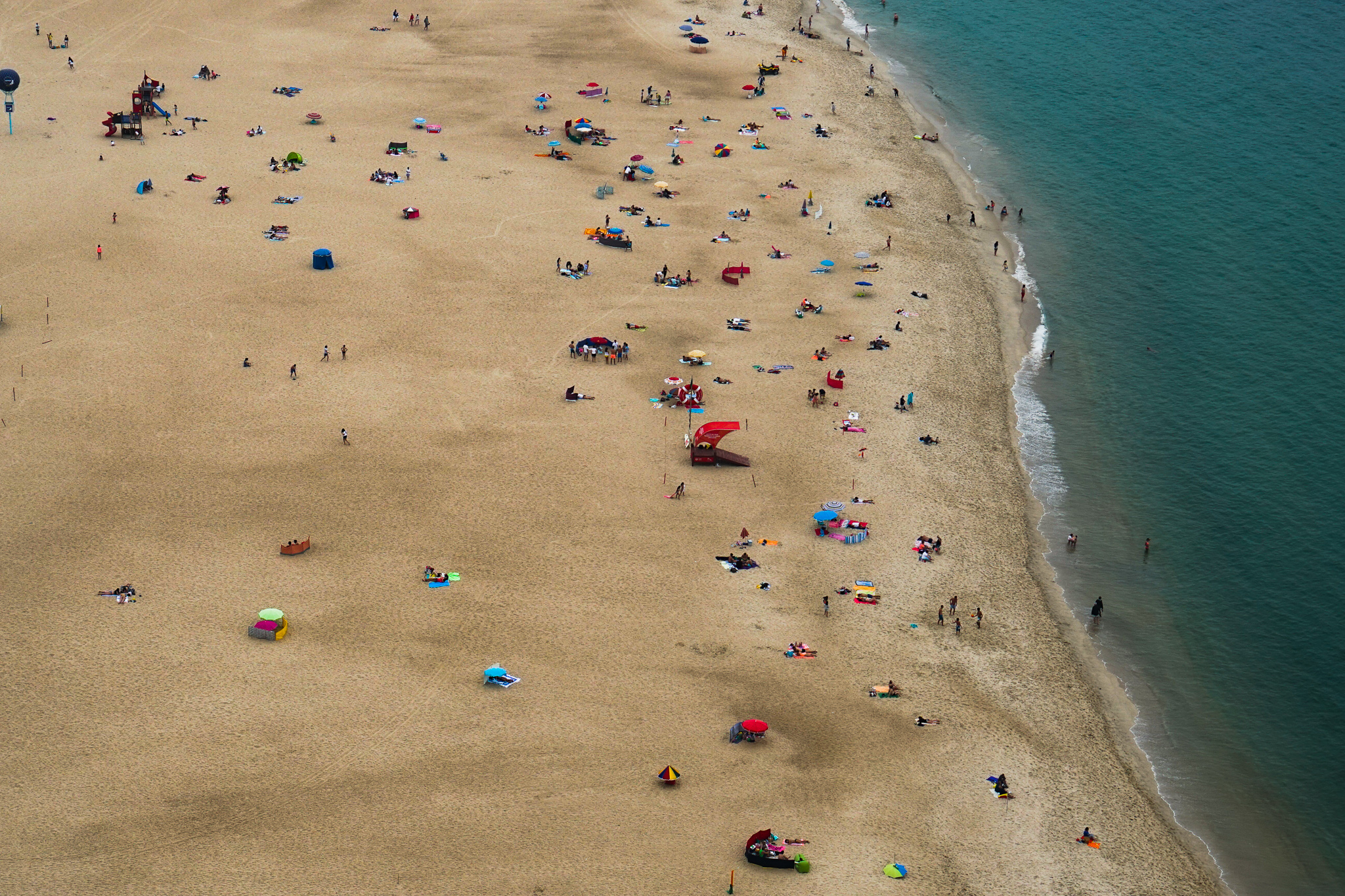 The Beach at Nazare