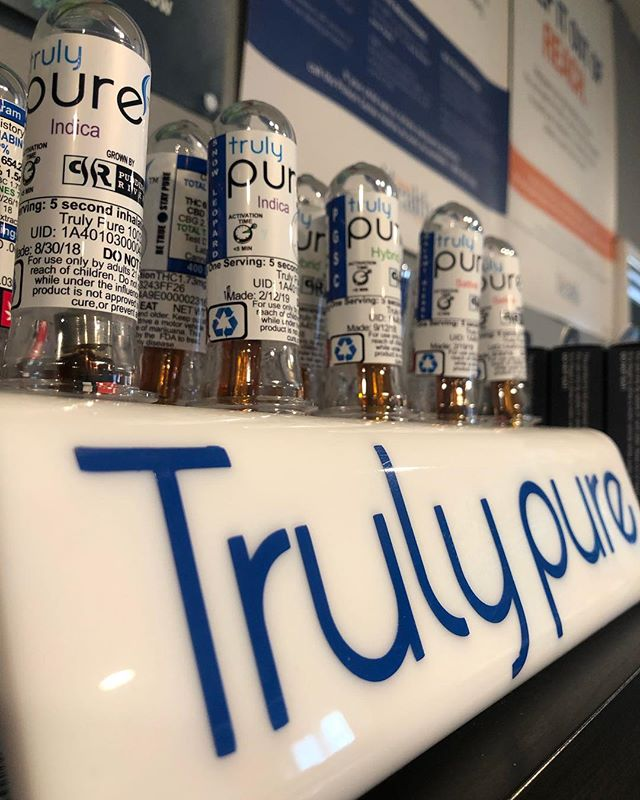 We're thrilled to have @trulypurevape back in the shop! These are some of the tastiest cartridges in Oregon! . . . . #trulypure #trulypurevape #portland #oregon #vape #vapepen #cartridges #pdx #portland #503 #503nation #doctorsorders