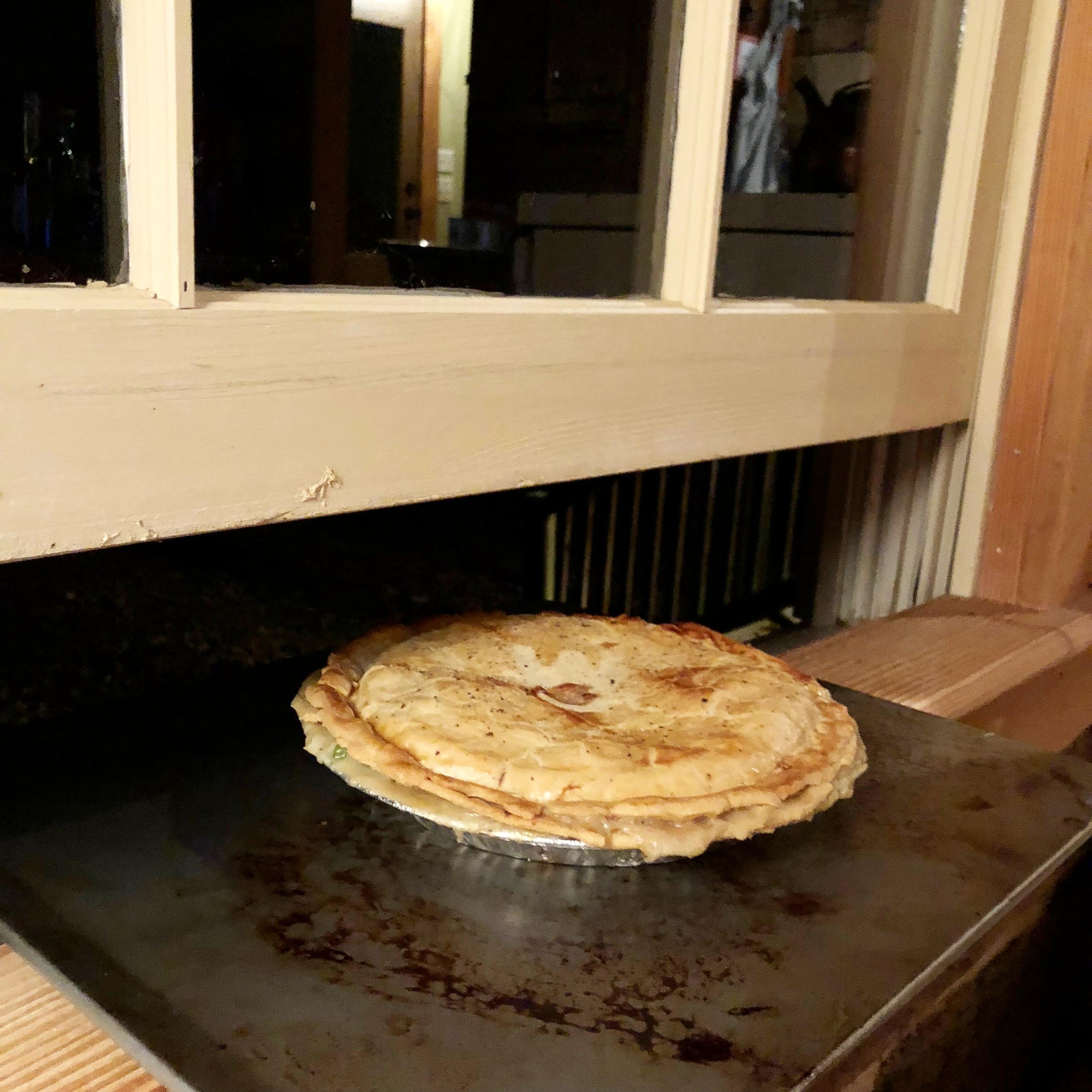 Game bird pie