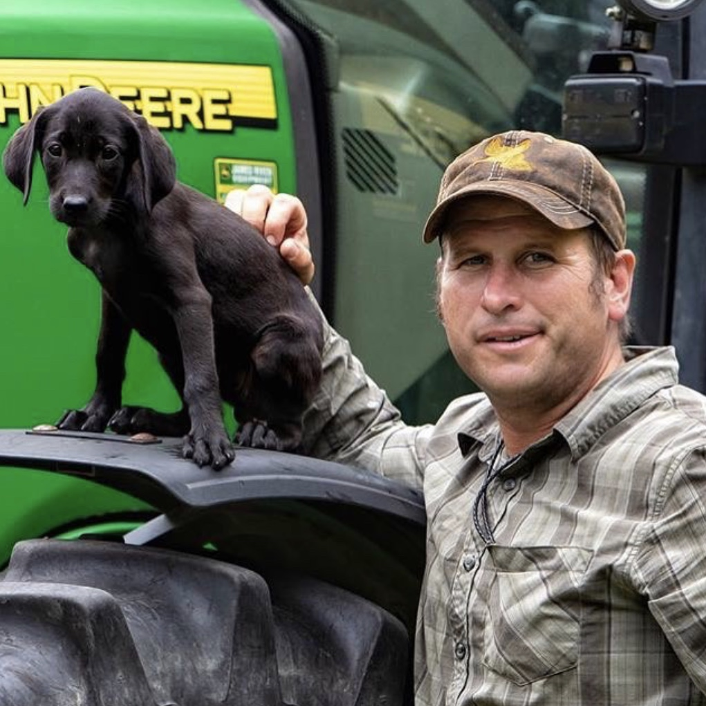 Grayson Guyer, Lost Highway Kennels' owner/trainer (photo credit:  Jimmy Cobb )
