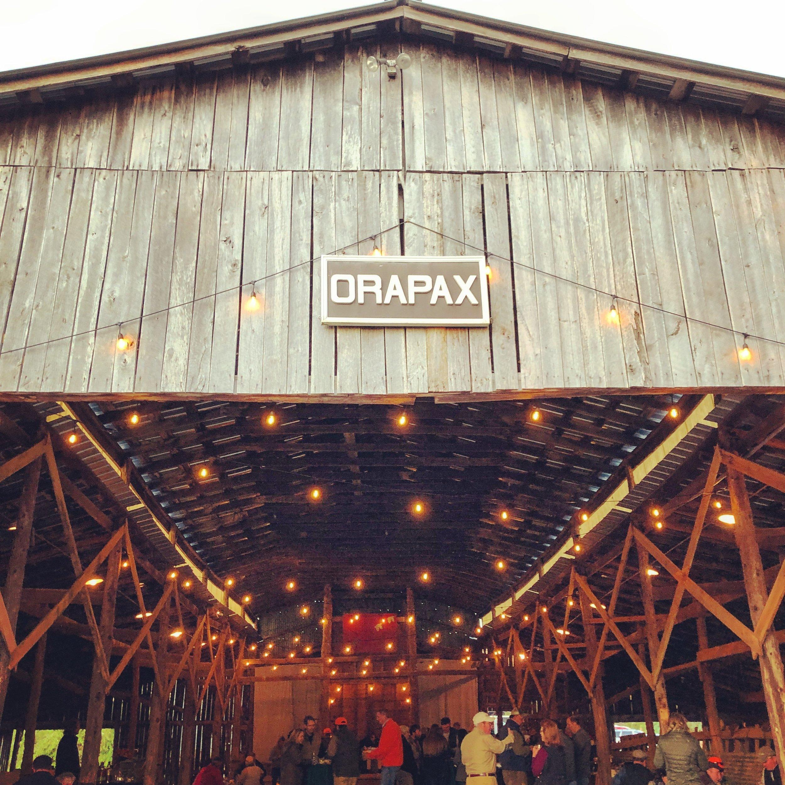 The Barn Warming: let the festivities begin!