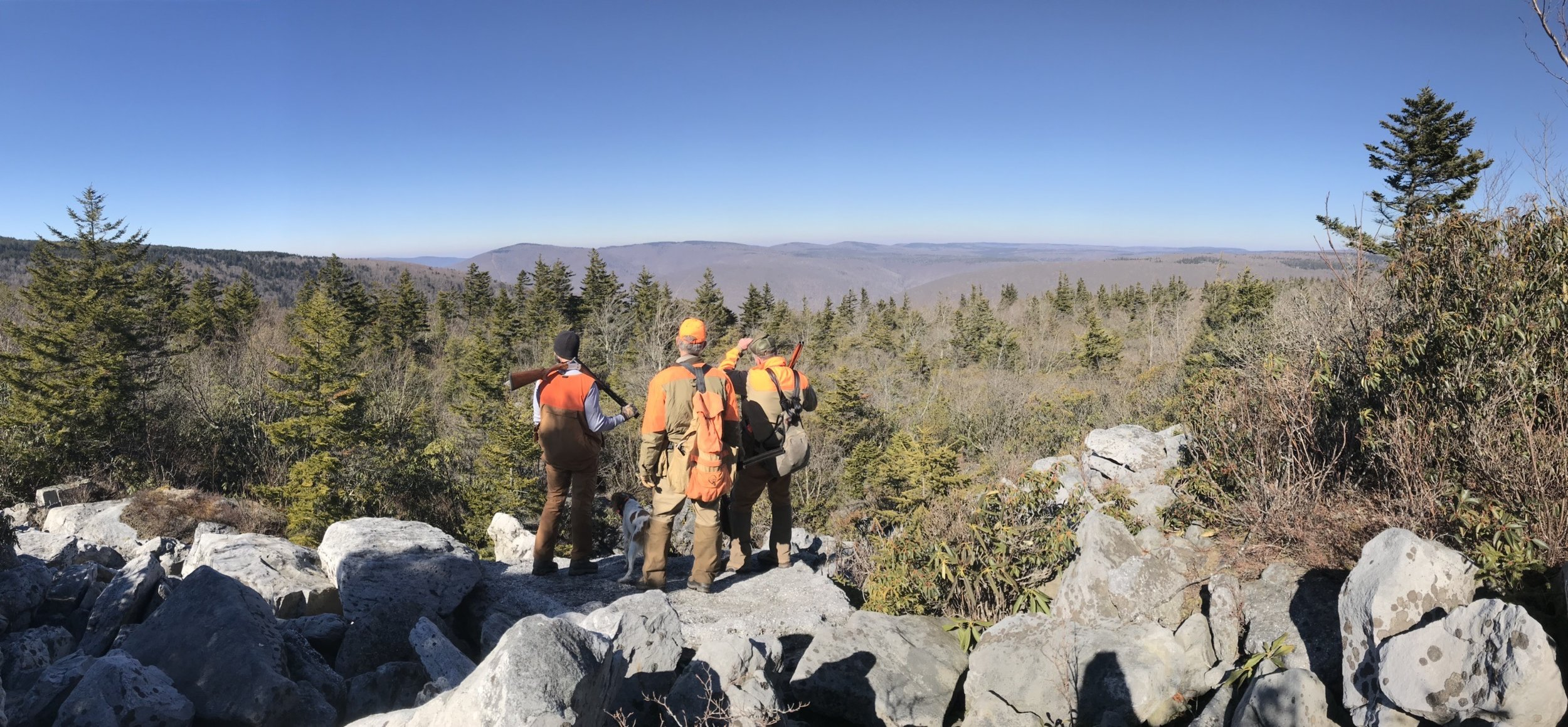 Justin, Chip, and Robb and the million dollar view (photo credit: John Feasel /  Arrowhead Outdoors )