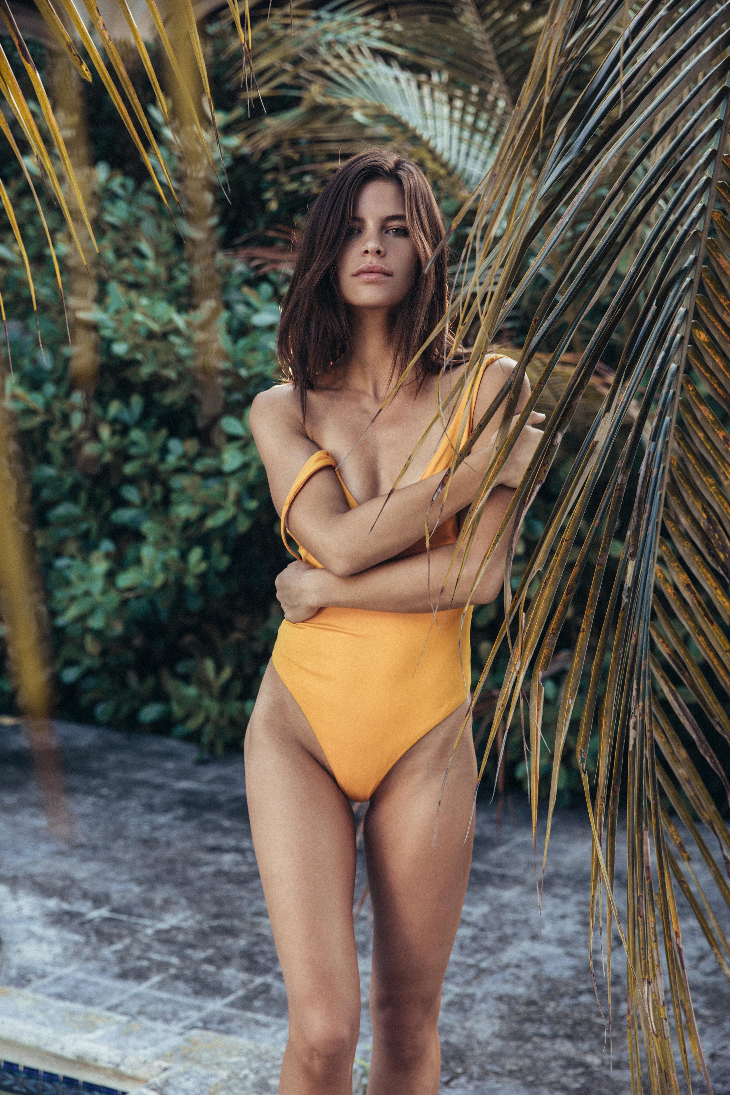 Model Becca Lane Bikini Swimwear Los Angeles Spray Tans