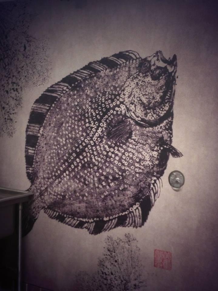 Wall Art at Sushi Maki