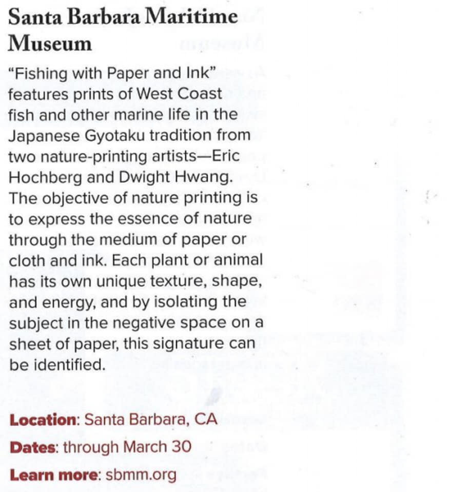 "Blurb In ""MUSEUM"" Magazine!!"