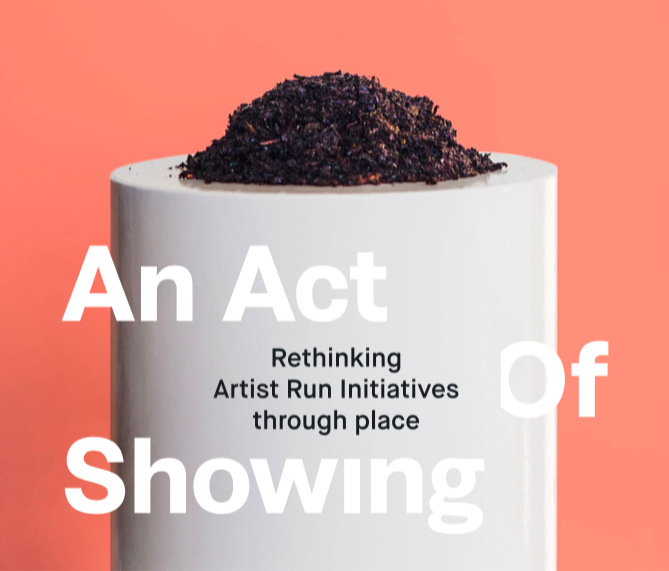 An Act of Showing (title) - image Elwyn Murray .png