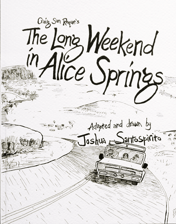 The Long Weekend in Alice Springs, front cover.