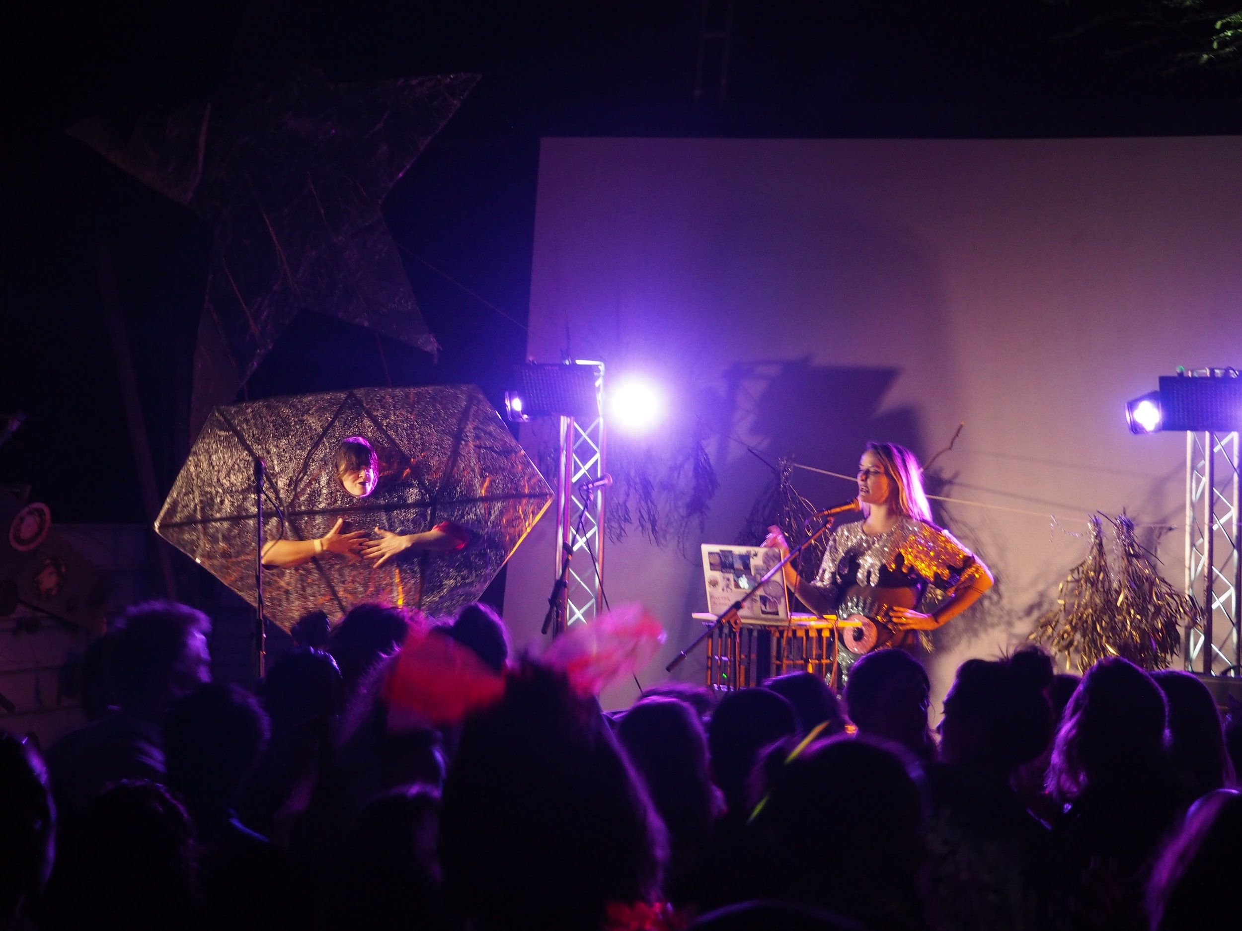 DJ Drazic's GF and The Diamond performing