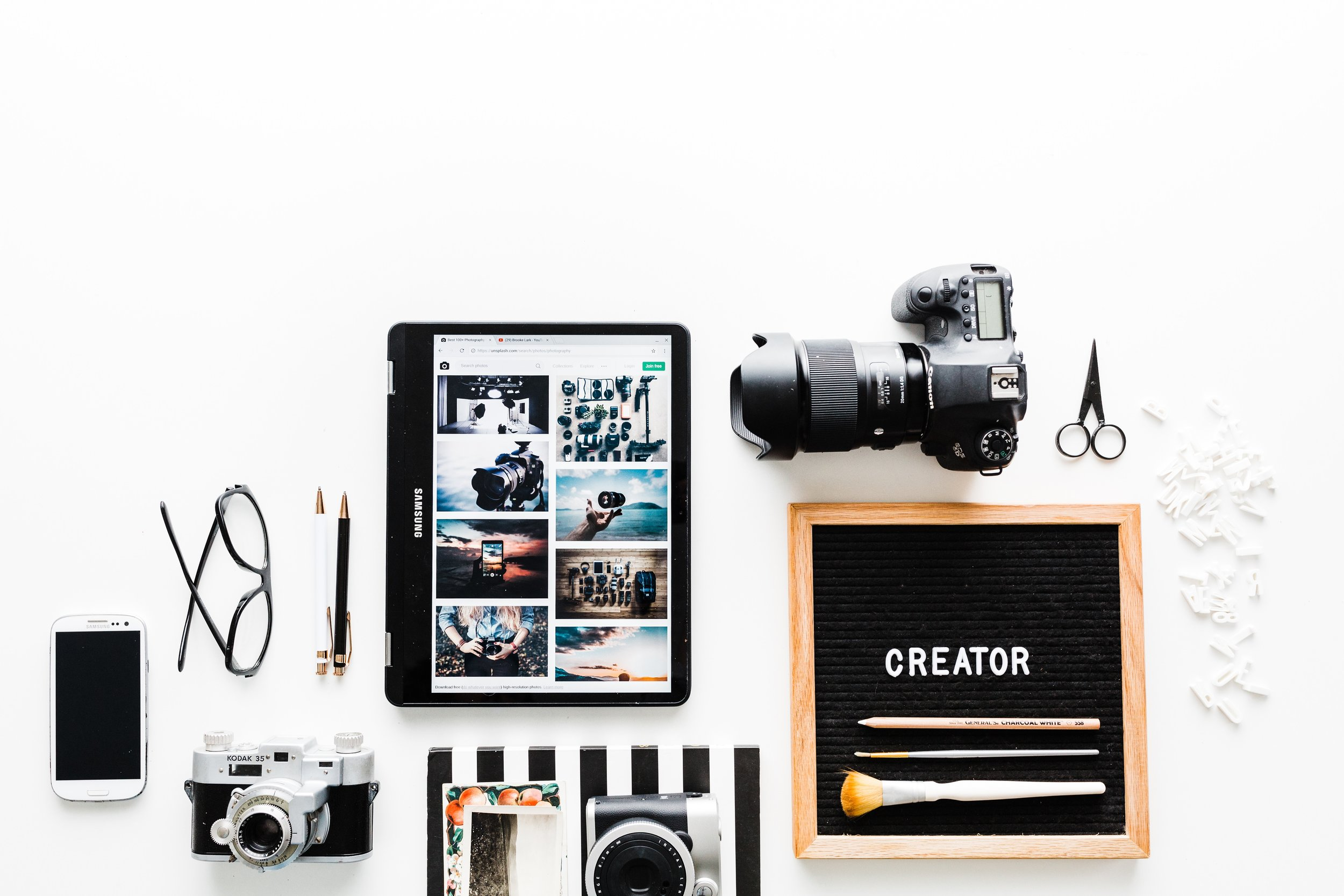 To get through the noise on social media, - you will need to work on copywriting  and photography skills. Aside from  captivating images, the text is king. Our secret formula is 4 C's.  Before clicking