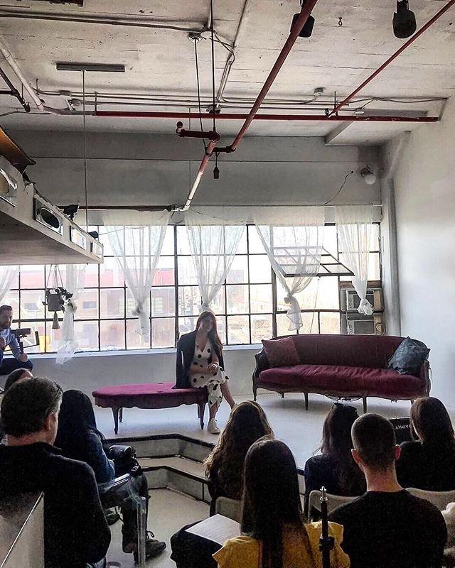 Our creative director @martatryshak speaking on social media and social responsibility at #SaturdaySocialTo
