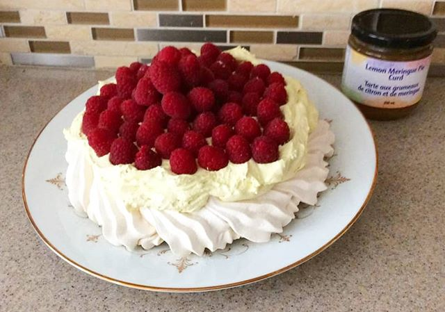 Friday Recipes with Fruit of the Land!! 🙌 .  Today we have a summery tasty dessert by our brand ambassador Barbara - easy to make and absolutely delicious:  #LemonMeringue Pavlova featuring secret ingredient Kurtz Lemon Meringue Pie Curd! 🍋 __ Ingredients: 🔸️1 Package PC Pavlova (already prepared, long date) 🔸️1 jar Kurtz  Lemon Meringue Pie Curd (or Key Lime Curd) 🔸️😍1 container Cool Whip (any variety (regular, low fat) Berries __ Instructions: MIX Curd and Cool Whip together till smooth. POUR into centre of pavlova, spread around. ADD berries into centre and place around the pavlova. __ SERVE and ENJOY! __ Pick up our Lemon Curd in store: @promenadesc @vaughan_mills @shop_hillcrest @bvshops