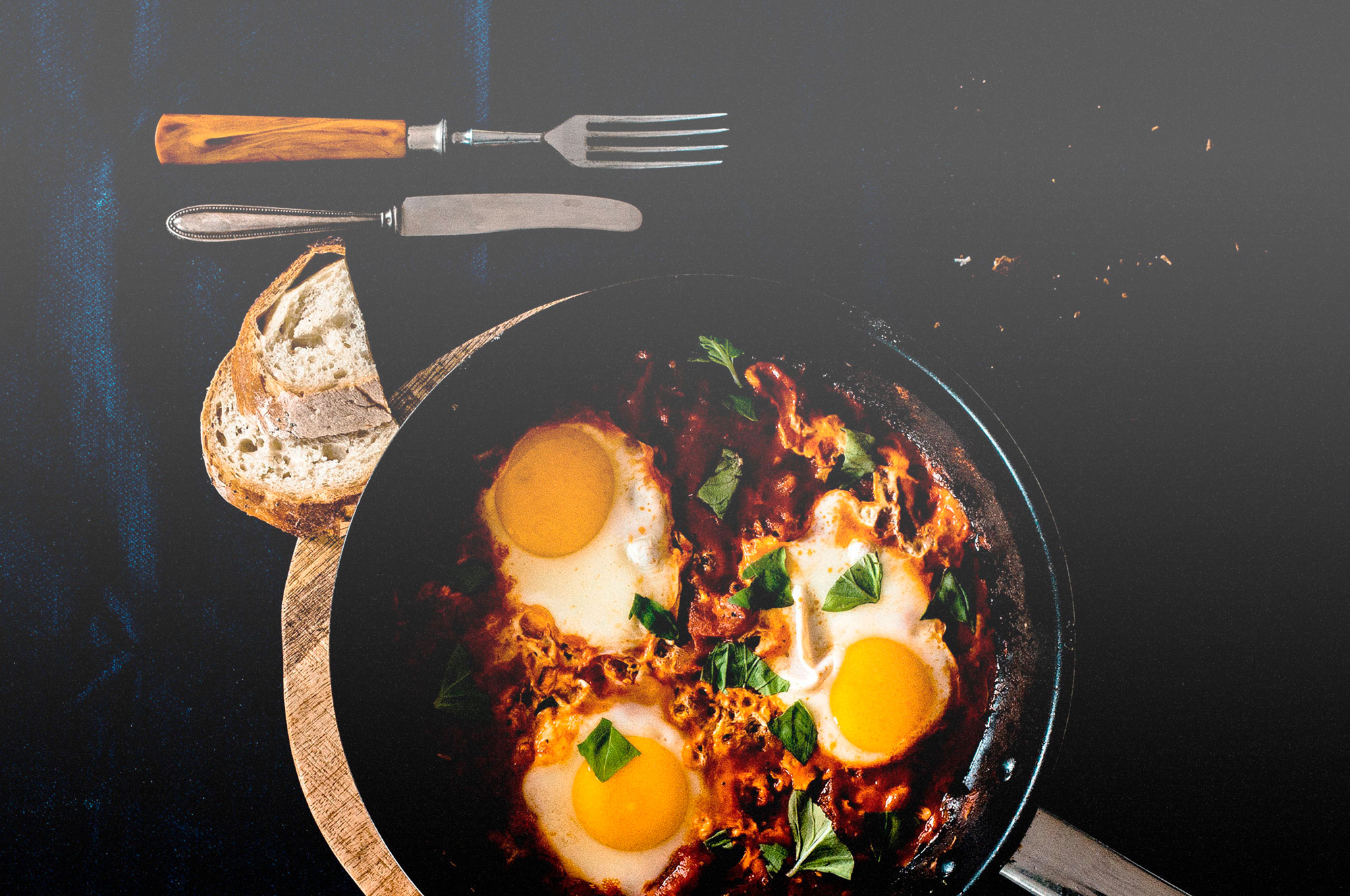 Huevos Rancheros (Spanish Baked Eggs) -