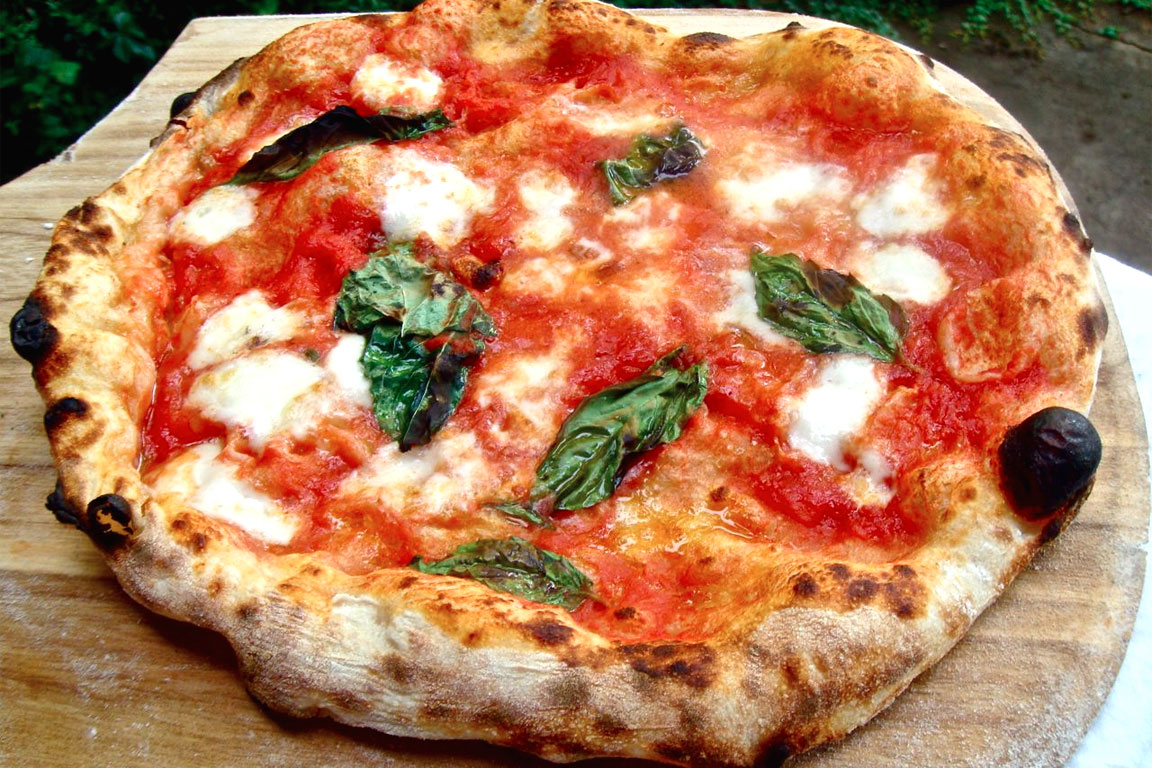 Traditionele Italiaanse pizza's -
