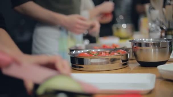 - Koken en tafelen met vrienden en collega's workshop.