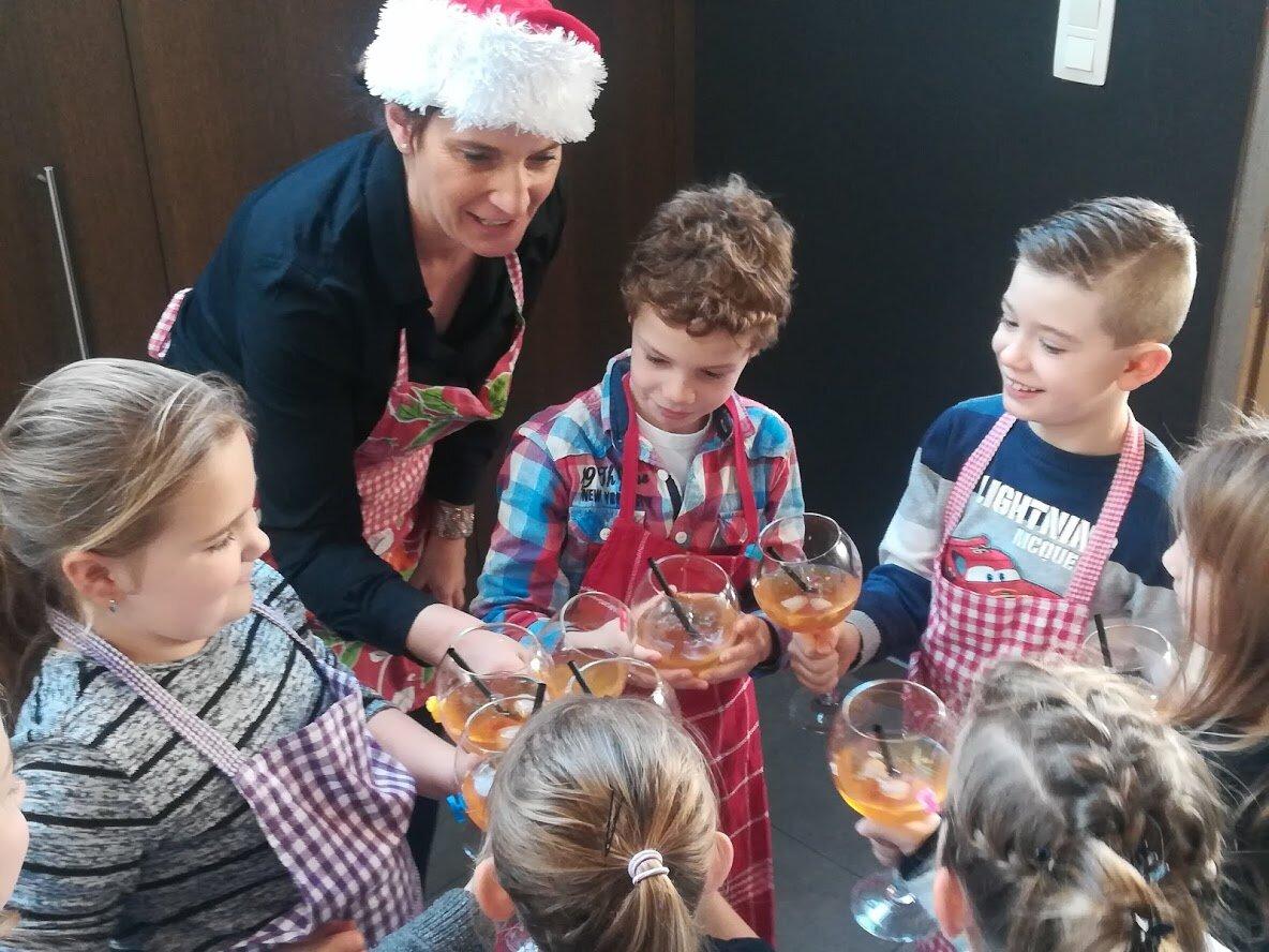 - Leuke kinder- kook namiddag heerlijke feestelijke gerechtjes.